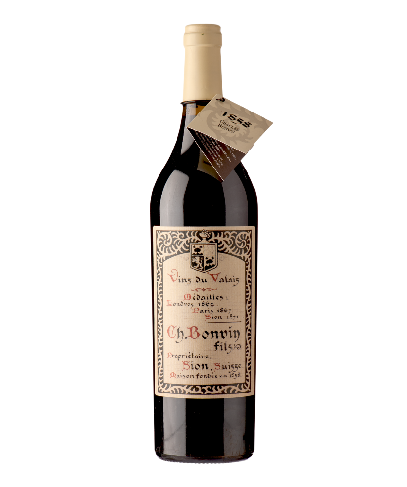 Cuvée 1858 Rouge Charles Bonvin SA / André Darbellay 2015 75 cl
