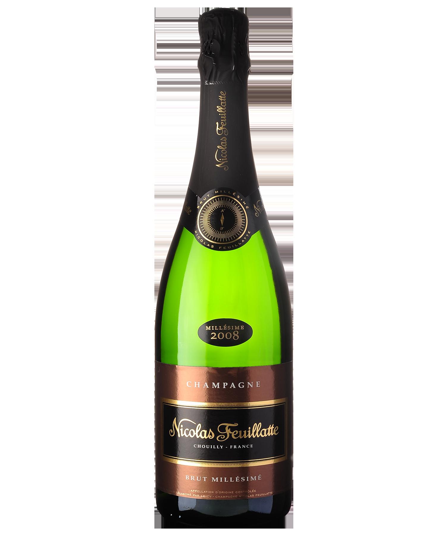 Champagne nicolas feuillatte millesime 2008