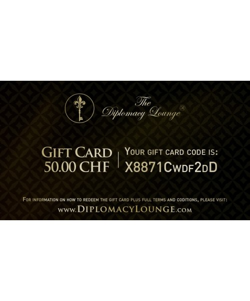 Gift Card - 50 CHF