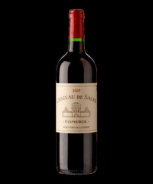 Ch. de Sales - 2010 - Château de Sales - 37.5 cl