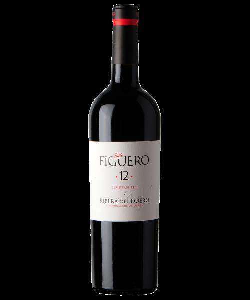 Figuero 12 (Crianza) - 2012 - Viñedos y Bodegas García Figuero - 37.5 cl