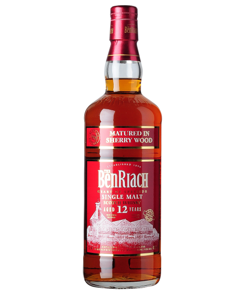 Benriach 12 years old, Sherry Wood 5cl Benriach Distillery  5 cl