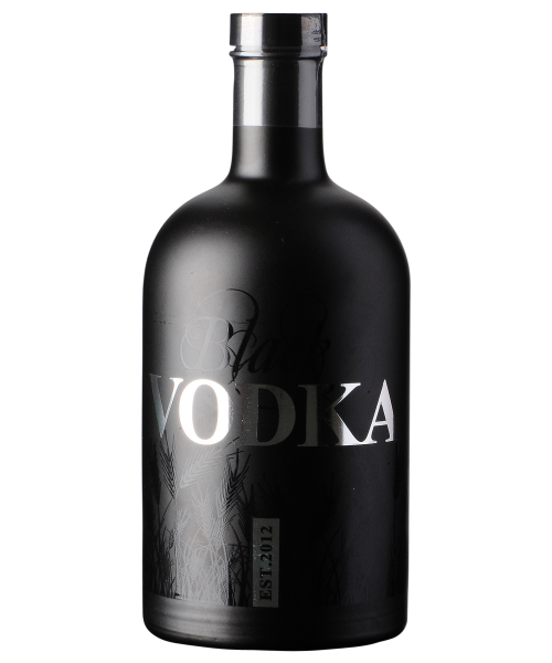 Black Vodka Destillerie Gansloser  70 cl