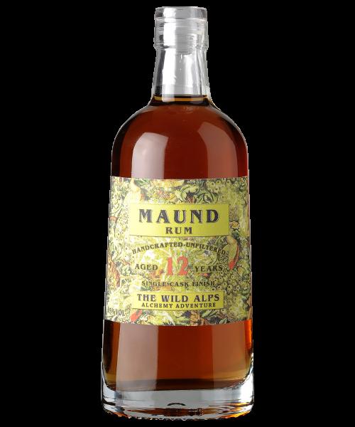 Maund (Jamaika) Rum 12 years The Wild Alps  50 cl