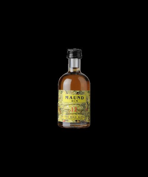 Maund (Jamaika) Rum 12 years The Wild Alps  5 cl