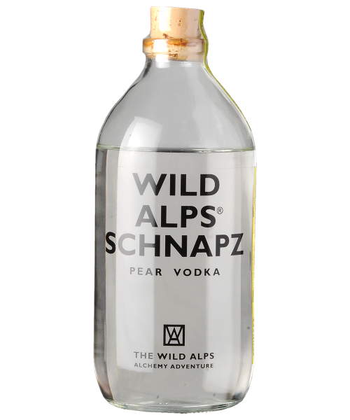 Schnapz Pear Vodka The Wild Alps  50 cl