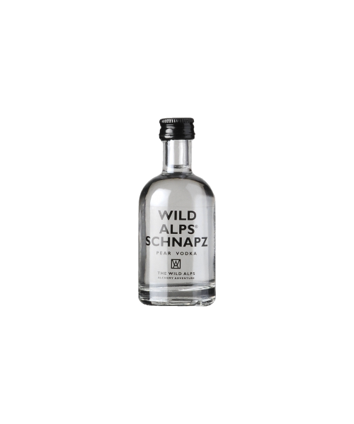 Schnapz Pear Vodka The Wild Alps  5 cl