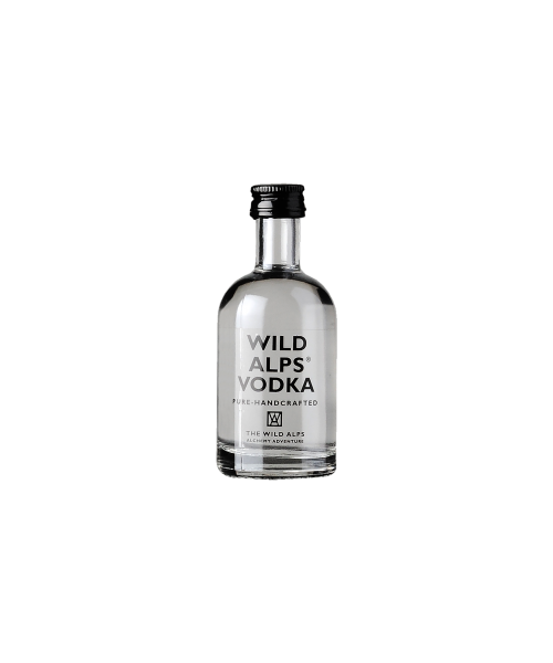 Vodka The Wild Alps  5 cl