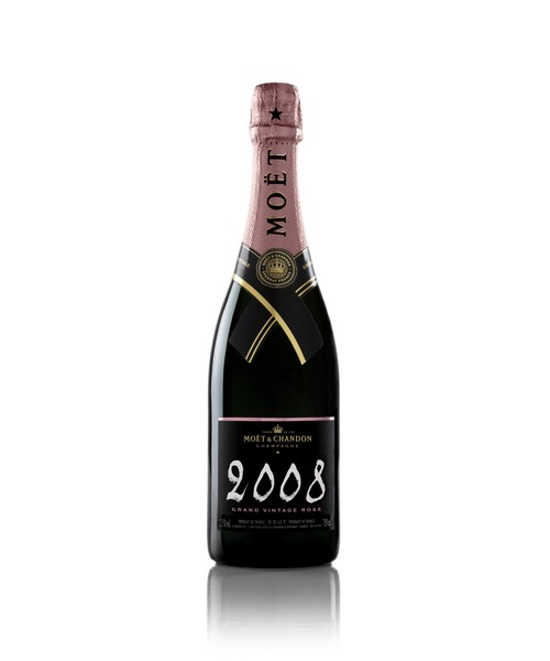 Moët & Chandon Grand Vintage 2008 Rosé 75cl Champagne