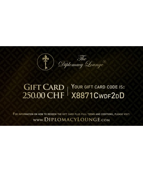 Gift Card - 250 CHF