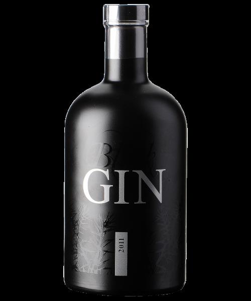 Black Gin Destillerie Gansloser  70 cl